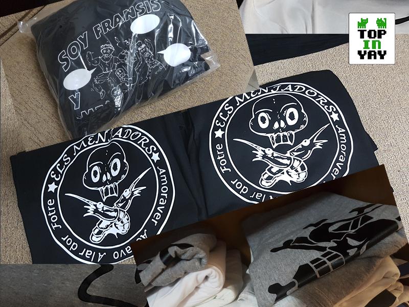 Camisetas personalizadas para Hogueras, Paellas y despedidas