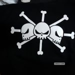La Bandera de Barba Negra de One Piece
