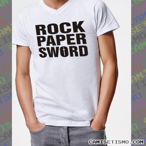 """Rock Paper Sword. Una variante del juego """"Piedra, papel, tijera"""" pero muy del medievo. Recuerda un poco a """"Rock Paper Scissors"""" de Little Big, la canción que acumula a día de hoy más de 40 millones de visitas."""