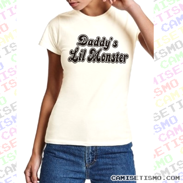 Camiseta Daddy's Lil Monster de Harley Quinn